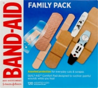 Band-aid Assorted Bandages Value Pack