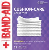 Band-Aid® Small Gauze Pads - 25 ct