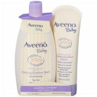 Aveeno  Baby Calming Comfort Bath + Lotion Set - Lavender & Vanilla