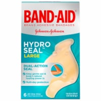 Band-Aid Large Hydro Seal One Size Bandages