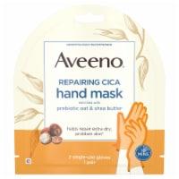 Aveeno Prebiotic Oat & Shea Butter Repairing CICA Hand Mask