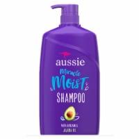 Aussie Miracle Moist Avocado & Australian Jojoba Oil Shampoo