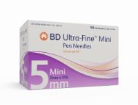 BD Ultra-Fine 5mm x 31G Mini Pen Needles
