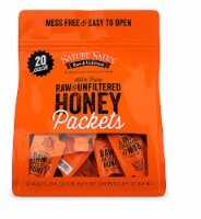 Nature Nate's 100% Pure Raw & Unfiltered Honey Packets