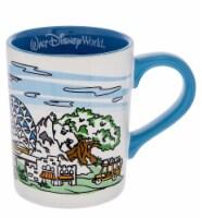 Disney Walt Disney World 4 Parks Skyline Ceramic Coffee Mug New - 1