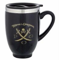 Disney Parks Pirates Of The Caribbean Travel Ceramic Coffee Mug New - 1