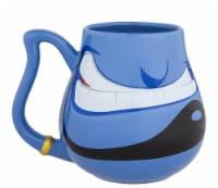 Disney Parks Aladdin Genie Face Ceramic Coffee Mug New - 1