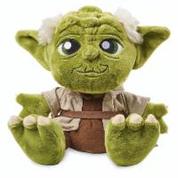 Disney Parks Star Wars Yoda Big Feet Plush 10  New With Tags - 1