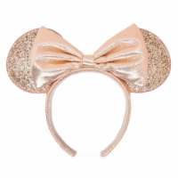 Disney Minnie Mouse Briar Rose Gold Ear Headband New - 1