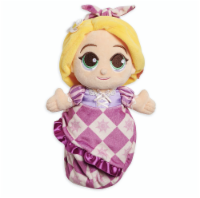 Disney Parks Tangled Baby Rapunzel In Blanket Pouch Plush New With Tag - 1