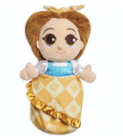 Disney Parks Beauty And The Beast Baby Belle In Blanket Pouch Plush New With Tag - 1