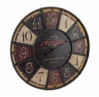 Large Antiques Wall Clock 23 1/2 In. - Medium