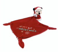 Disney Mickey Mouse My 1st Christmas Plush Blankie For Baby Plush New With Tag - 1