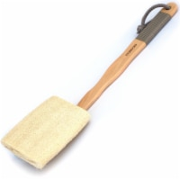 Basicare Wooden Loofah Brush | with Detachable Handle - 1