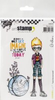 Carabelle Studio Cling Stamp A6 By Alexi-Tao In The World - 1