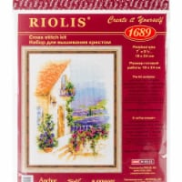 Riolis R1689 Provence Street Counted Cross Stitch - 1