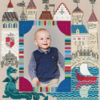 Riolis R1617 11.75 x 11.75 in. Knights Castle Counted Cross Stitch Kit - 14 Count - 14