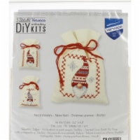 Vervaco V0155951 Counted Cross Stitch Kit - Christmas Gnomes - 1