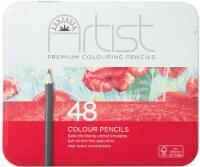 Fantasia Premium Color Pencil Set W/Storage Tin 48/Pkg-