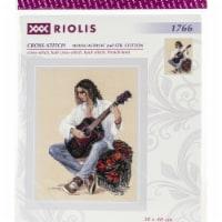 Riolis R1766 Counted Cross Stitch Kit - Guitarist - 1