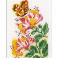 Vervaco V0156498 Butterflies - Counted Cross Stitch Kit - 1