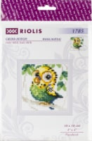 Riolis R1785 4 x 4 in. Counted Cross Stitch Kit - Parakeet