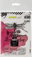 Carabelle Studio Cling Stamp A6 By Jen Bishop-Artistic Penmanship - 1