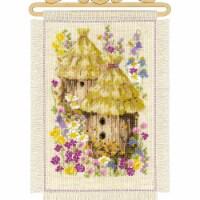 Riolis R1847 Cottage Garden Summer-Counted Cross Stitch - 1