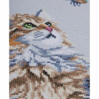Vervaco L0184322 Forest Cat-Diamond Art Kit - 1
