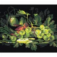 Riolis RAM0026 Still Life with Lemon-Diamond Mosiac Kit - 1