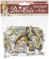 Stamperia Die-Cuts-Alice In Wonderland - 1