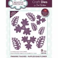 Creative Expressions CED1523 Craft Dies - Ruffled Edge Flowe