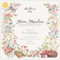 Craft Consortium Double-Sided Paper Pad 12 X12  40/Pkg-Farm Meadow By Clare Therese Gray - 40/Pkg