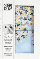 Carpe Diem Notebook Holder-Ditsy Floral - 1