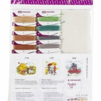 Riolis R1828 9 x 9 in. Summer In The Country Counted Cross Stitch Kit - 18 Count - 1