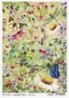 Ciao Bella Rice Paper Sheet A4 5/Pkg-Microcosmos - 1