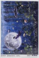 Ciao Bella Rice Paper Sheet A4 5/Pkg-Upside Down, Moon & Me - 1