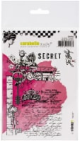 Carabelle Studio Cling Stamp A6 By Jennifer Bishop-Secret - 1