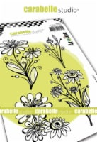 Carabelle Studio Cling Stamp A6 By Azoline-Morning Bouquet - 1
