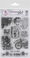 Ciao Bella Stamping Art Clear Stamps 4 X6 -Speed Limit - 1