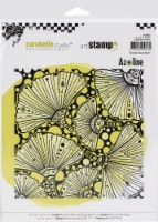 """Carabelle Studio Cling Stamp Square 6"""" By Azoline-Autumn Ginko - 1"""