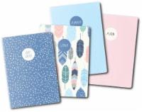 Carpe Diem A6 Notebooks 4/Pkg-Feathers - 1