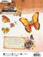 Studio Light Just Lou Butterfly Clear Stamp-Nr.14 - 1