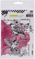 Carabelle Studio Cling Stamp A6 By Jen Bishop-Field Bird #1 - 1