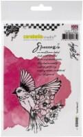 Carabelle Studio Cling Stamp A6 By Jen Bishop-Field Bird #3 - 1