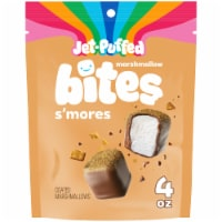 Jet-Puffed Marshmallow Bites S'mores Coated Marshmallows - 4 oz