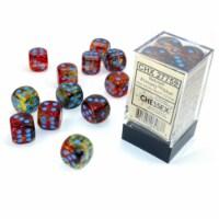 Chessex 7 Set Polyhedral Dice Nebula Primary Blue D6 Luminary CHX27759 - 1 Unit