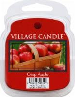 Village Candle Crisp Apple Wax Melt - Red - 6 pk / 2.2 oz