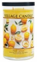 Village Candle Fresh Lemon Scented Jar Candle