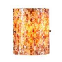 "CHLOE Lighting SHELLEY Mosaic 1 Light Wall Sconce 8.5"" Wide"